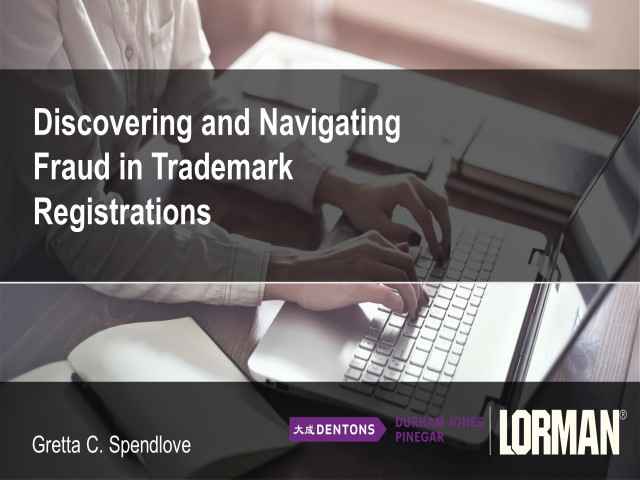 Discovering and Navigating Fraud in Trademark Registrations
