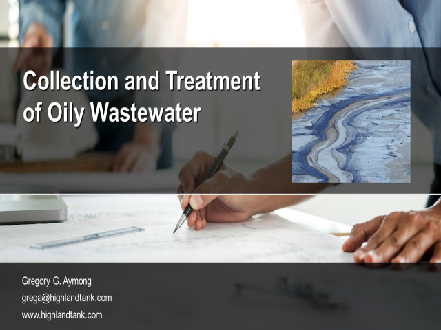 Collection and Treatment of Oily Wastewater