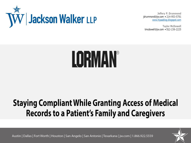 Staying Compliant While Granting Access of Medical Records to Patient's Family and Caregivers