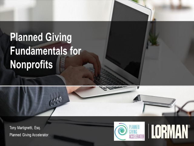 Planned Giving Fundamentals for Nonprofits