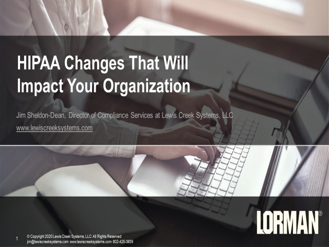 HIPAA Changes That Will Impact Your Organization