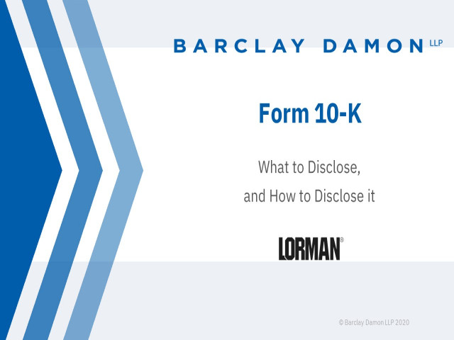 Form 10-K and How to Avoid Regulatory Actions From the SEC