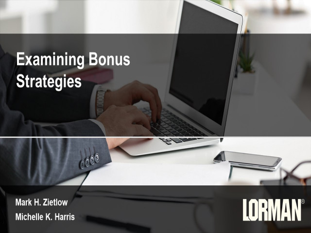 Examining Bonus Strategies