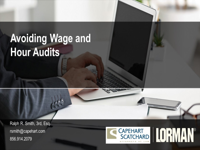 Avoiding Wage and Hour Audits