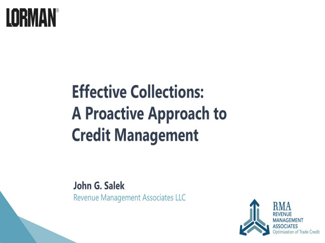 Effective Collections: A Proactive Approach to Credit Management