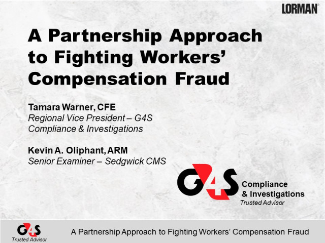 Uncovering Workers' Compensation Fraud