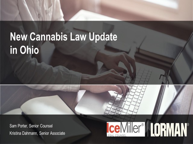 New Cannabis Law Update in Ohio