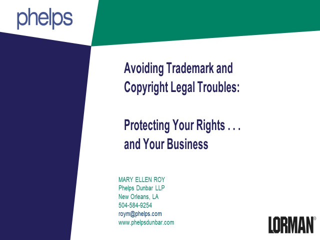 Avoiding Trademark and Copyright Legal Troubles: Protecting Your Rights and Your Business