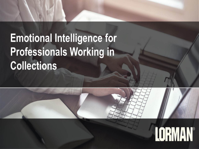 Emotional Intelligence for Professionals Working in Collections
