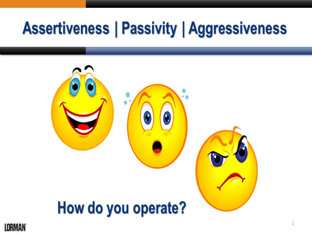 Be Assertive: Confrontation Skills for Managers and Supervisors