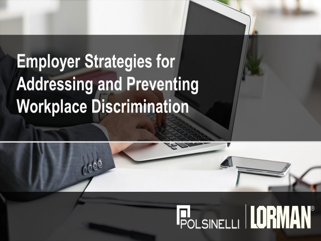 Strategies to Prevent and Avoid Discrimination in the Workplace