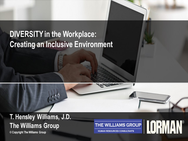 Diversity in the Workplace: Creating an Inclusive Environment