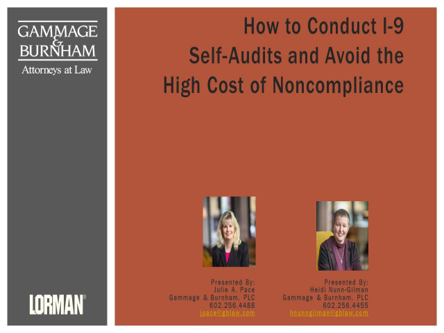 How to Conduct I-9 Self-Audits and Avoid the High Cost of Noncompliance