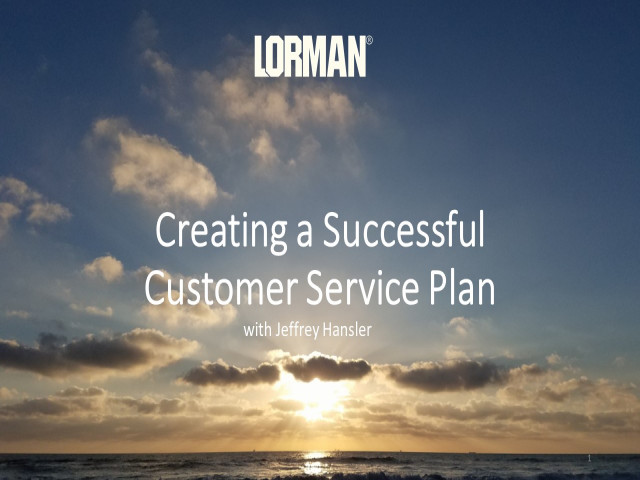 Creating a Successful Customer Service Plan