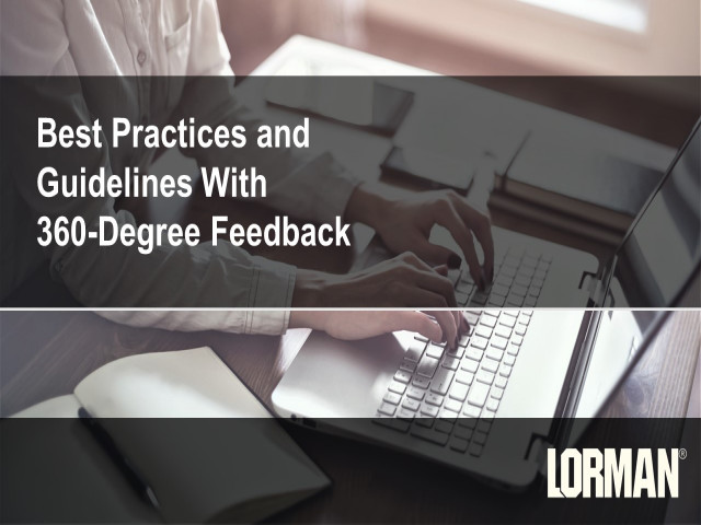 Best Practices and Guidelines With 360-Degree Feedback