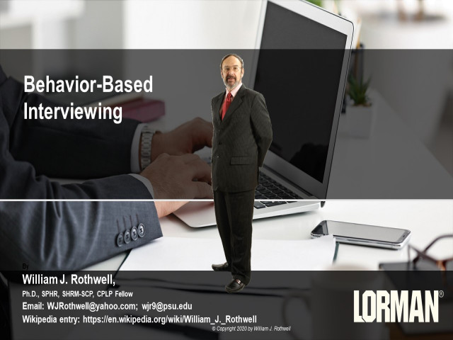 Behavioral-Based Interviewing
