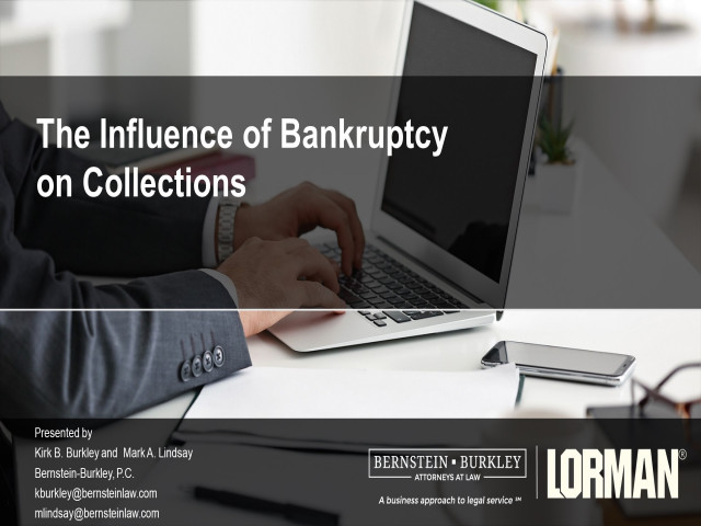 The Influence of Bankruptcy on Collections