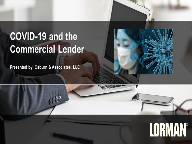 COVID-19 and the Commercial Lender