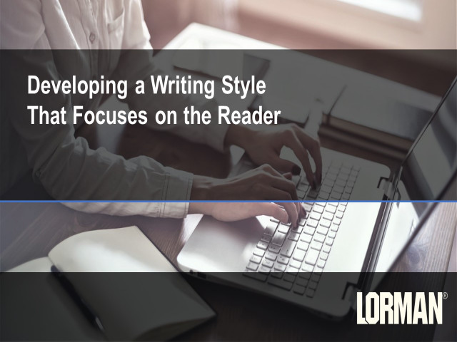 Developing a Writing Style That Focuses on the Reader