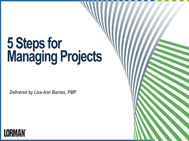 5 Steps for Managing Projects