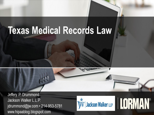 Texas Medical Records Law