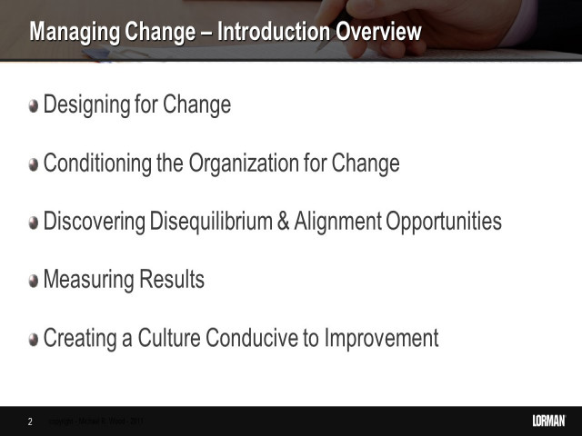 How to Effectively Manage Change in an Ever-Changing World
