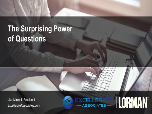 The Surprising Power of Questions