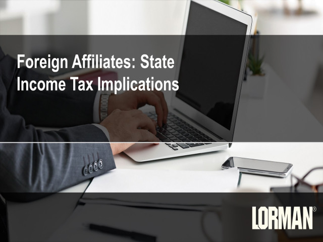 Foreign Affiliate Income: State Tax Implications