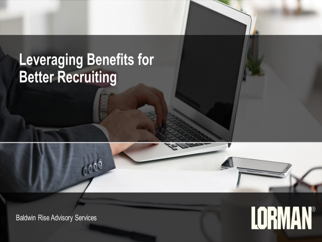 Leveraging Benefits for Better Recruiting