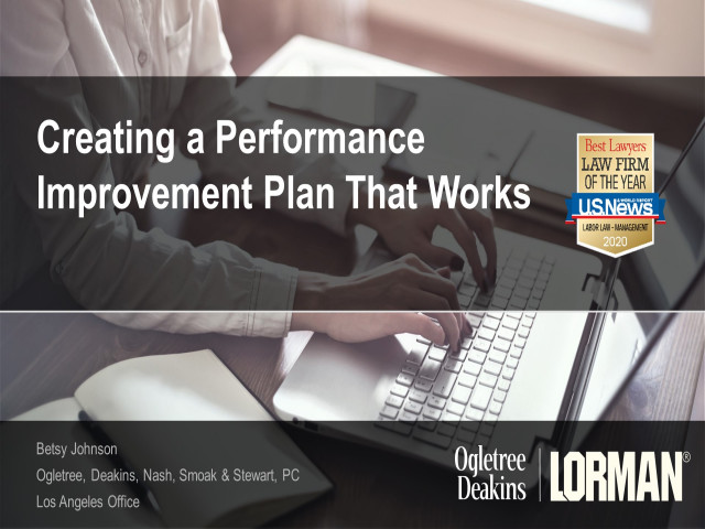 Creating a Performance Improvement Plan (PIP) That Works