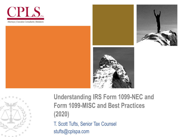 Understanding IRS Form 1099-NEC and Form 1099-MISC and Best Practices
