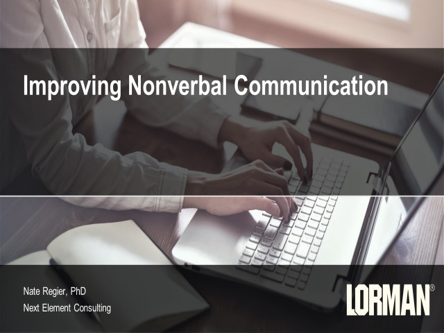 Improving Nonverbal Communication