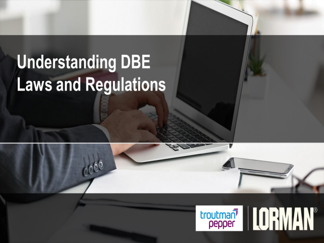 Understanding DBE Laws and Regulations