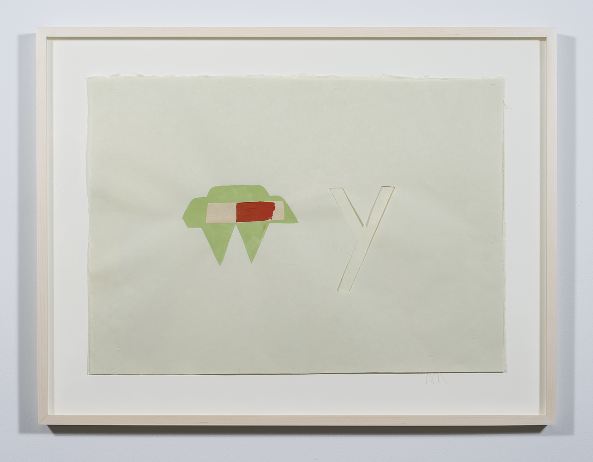Cyrilla Mozenter, my why (pale green), 2018