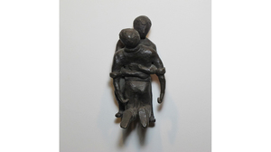 "Carol Saft, ""Lift"", 2006, Bronze, 5 x 2.5 x 3 inches"