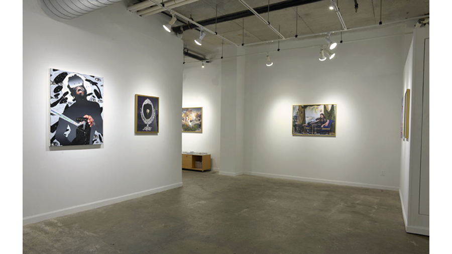 Myth and Body (installation view, Lesley Heller Workspace, New York)