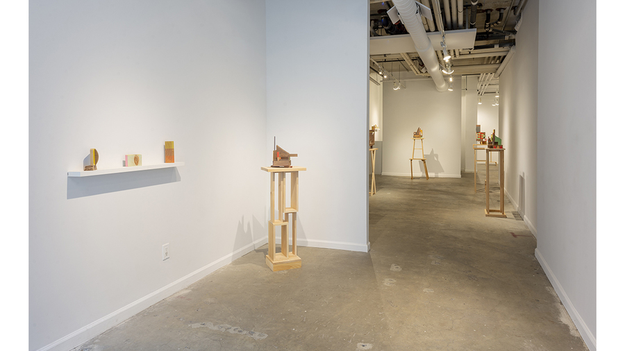 Jim Osman: The Walnut Series (installation view)