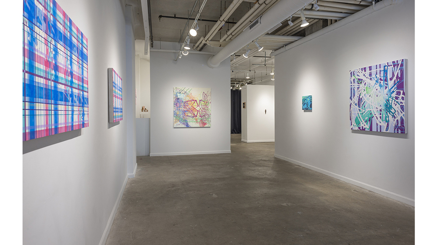 Tony Ingrisano: The Map and The Territory (installation view)