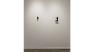 Carol Saft: Fallen Men (Installation view)