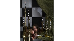 "Rachel Stern, ""Self Portrait as Lady MacBeth"", 2015, c-print in gold rail fra.... Image #146"