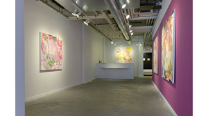 Bird and Flower (installation view, Lesley Heller Workspace, New York)