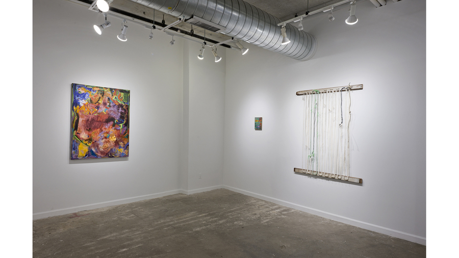 Interior Landszaft (installation view, Lesley Heller Workspace, New York)