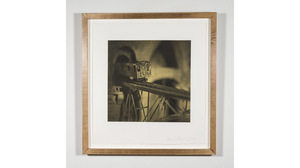 "Lothar Osterburg, ""13th Ave El"", 2009, Photogravure with Chine Colle, 11 x 11.... Image #523"