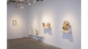 "Helen O'Leary, ""Home is a Foreign country"" (installation view)"