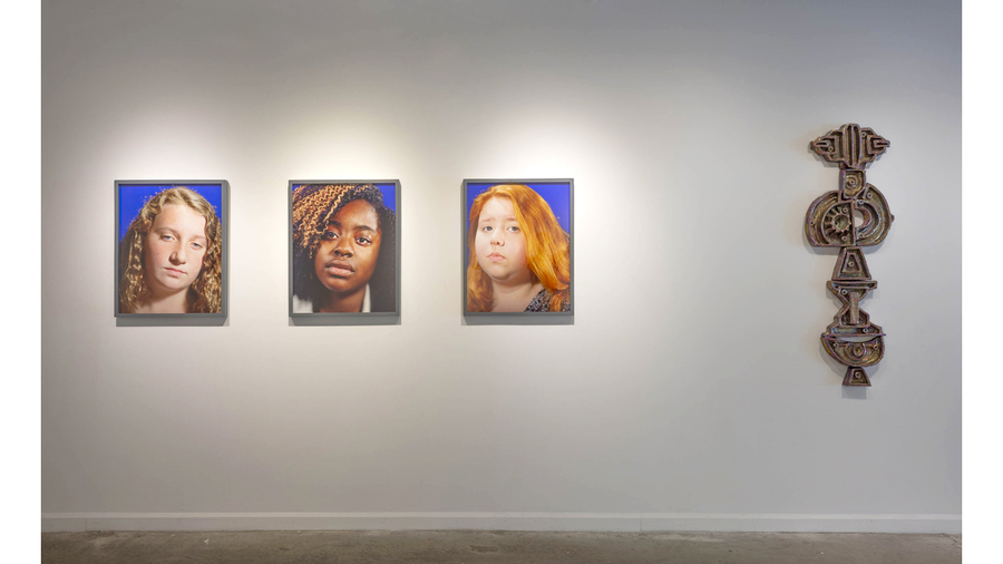 """Said by Her"" (installation view, Lesley Heller Gallery, 2018)"