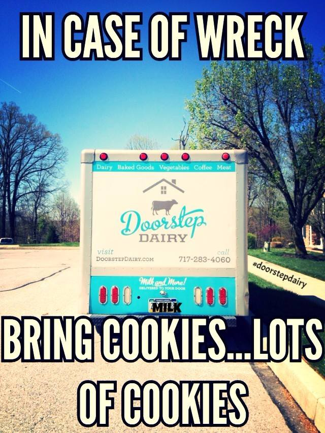 Doorstep Dairy Sense of Humor ;-)