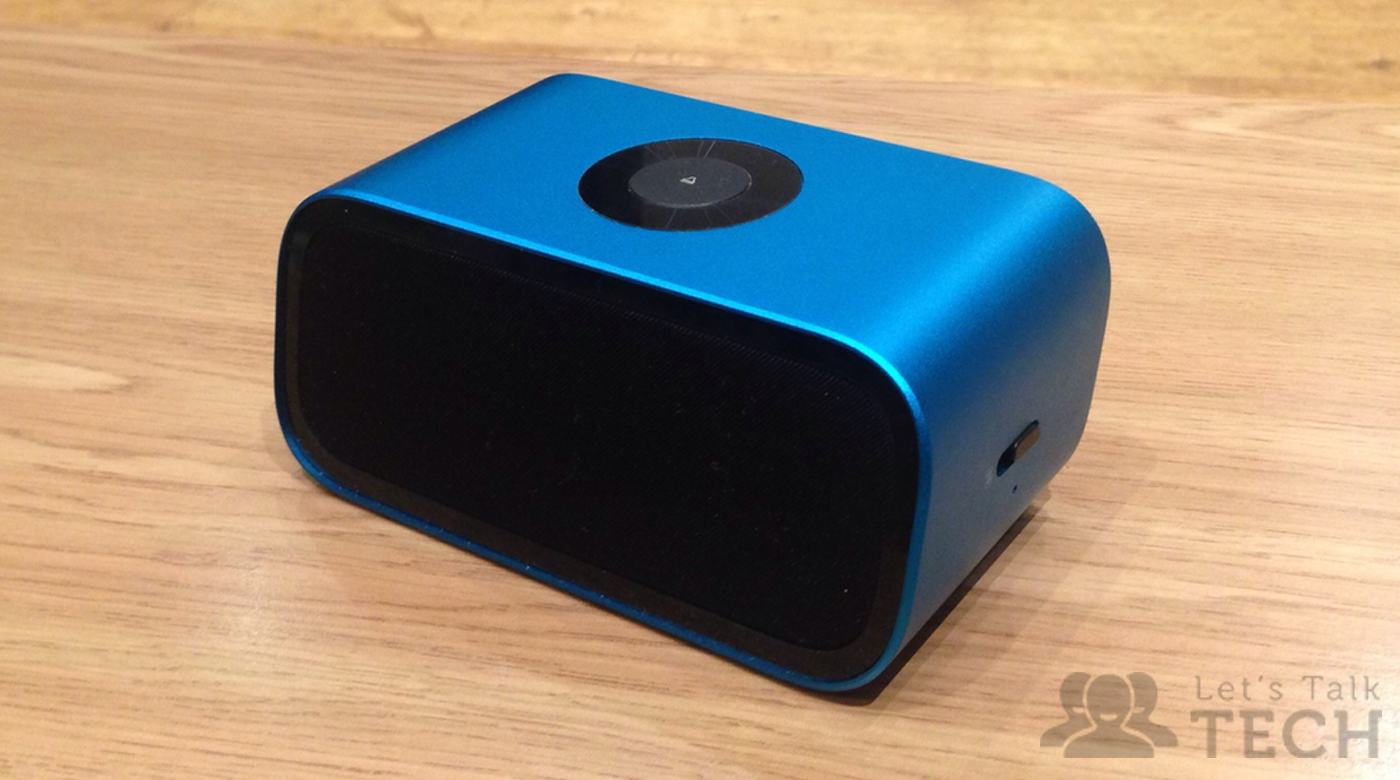 AcoustiPhase Mini Cannon Bluetooth Speaker Review