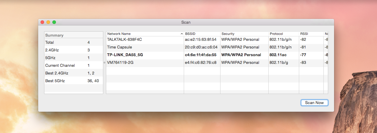How To Access The WiFi Scanner In Mac OS X Yosemite - Let's Talk Tech