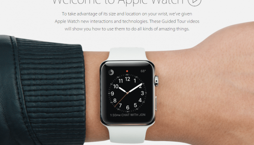 Apple Posts 'Guided Tours' Demonstration Videos Ahead of Apple Watch Launch