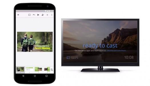 Google Updates Slides To Support Chromecast